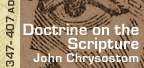 Click to Read Doctrine on the Scripture by St. John Chrysostom - Hail and Fire