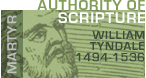 Click to Read Authority of the Scripture by William Tyndale - Hail and Fire - Doctrine
