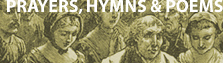online library: PRAYERS, HYMNS and POEMS
