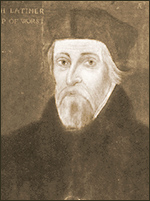 Hugh Latimer (1485-1555ad) English Reformer and Christian Martyr, burned alive at the stake during the reign of Queen Mary Tudor
