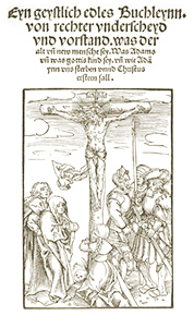 Title Page of German Theology