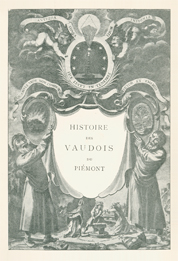 Title page from Jean Leger's History of the Vaudois of the Piedmont