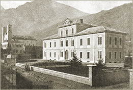 Photo of the Temple and Maison des Vaudois, Torre Pellice
