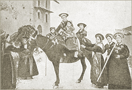 Photo of the Peasants of the Val Pragelas