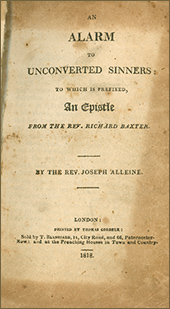 Alarm to the Unconverted Sinners by Joseph Alleine