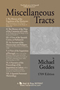 READ ONLINE: Miscellaneous Tracts by Michael Geddes (1709 Edition)