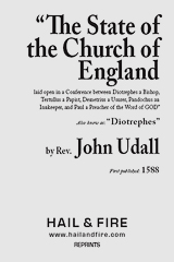 ONLINE BOOK: State of the Church of England by John Udall