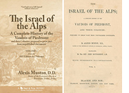 Read online - The Israel of the Alps - History of the Vaudois of Piedmont by Alexis Muston (1842 Edition in 2 volumes)