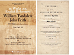 READ ONLINE: The Works of the English Reformers: William Tyndale & John Frith (3 Volumes, 1831 Edition)